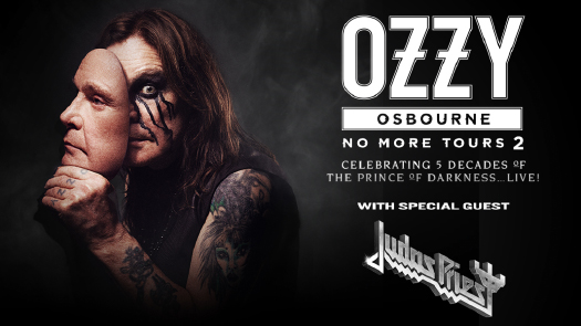 Ozzy Osbourne No More Tours 2 with special guest Judas Priest