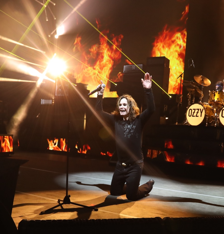 Ozzy Osbourne No More Tours 2 at Jones Beach Amphitheatre in Wantagh, NY September 8, 2018