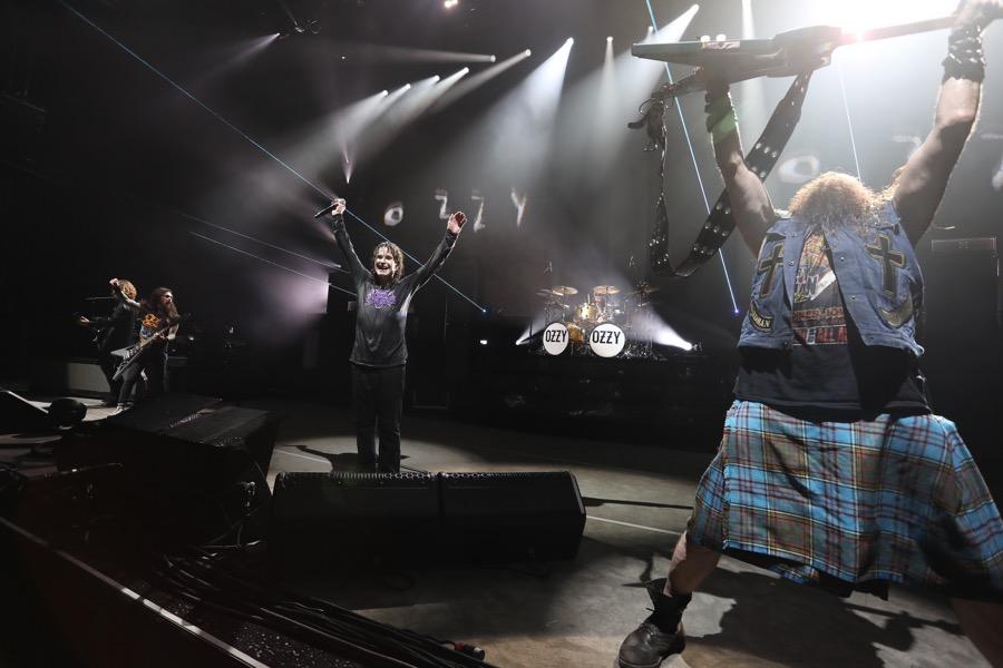 Ozzy Osbourne concert at BB&T Pavillion in Camden, NJ September 12, 2018
