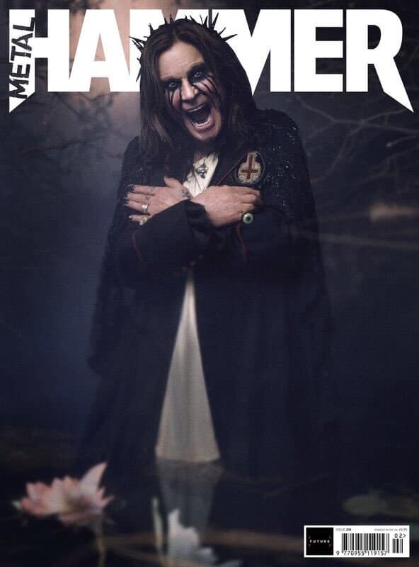 Ozzy Osbourne in Metal Hammer February 2019 issue