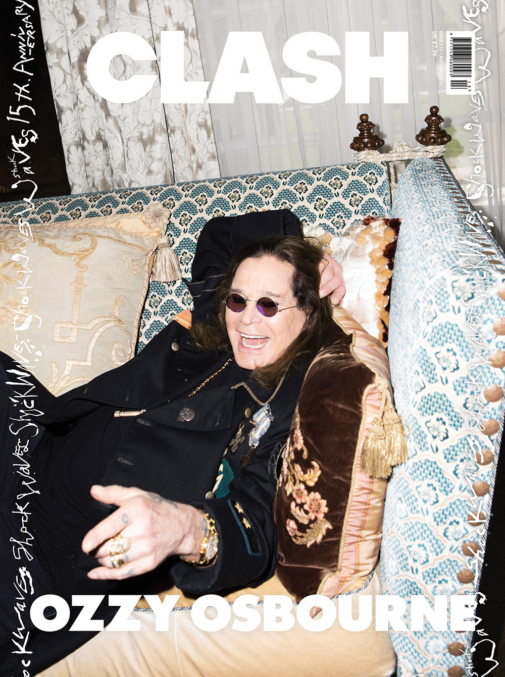 Ozzy Osbourne Clash Magazine Autumn 2019 cover