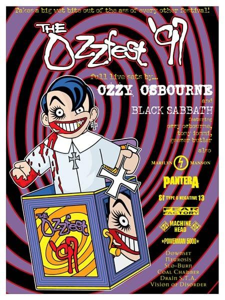FINAL OZZFEST 97