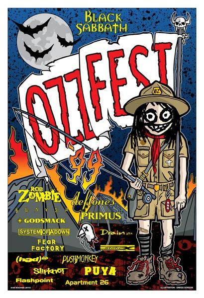FINAL OZZFEST 99