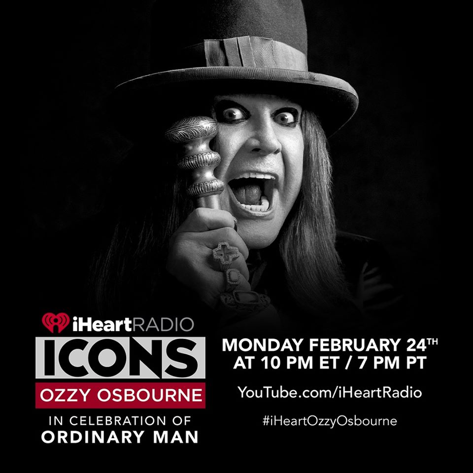 iHeartRadio ICONS with Ozzy Osbourne: In Celebration of his new album Ordinary Man