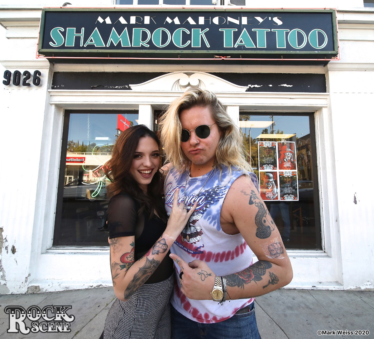Ozzy Osbourne Shamrock Social Club tattoo party February 20, 2020