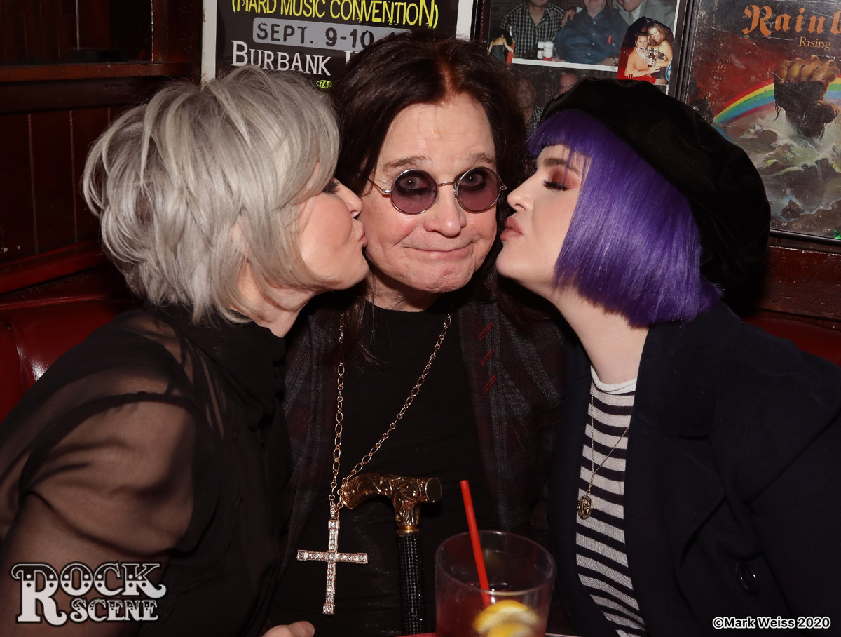 Ozzy Osbourne listening party at Rainbow Bar and Grill