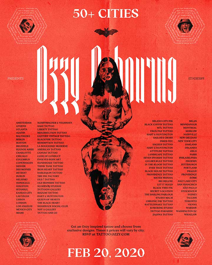 Ozzy Osbourne Celebrates 'Ordinary Man' Album Release With