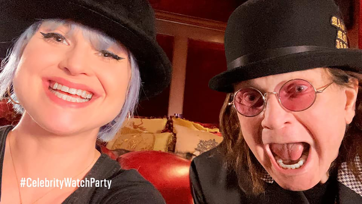 The Osbournes on Celebrity Watch Party May 7, 2020