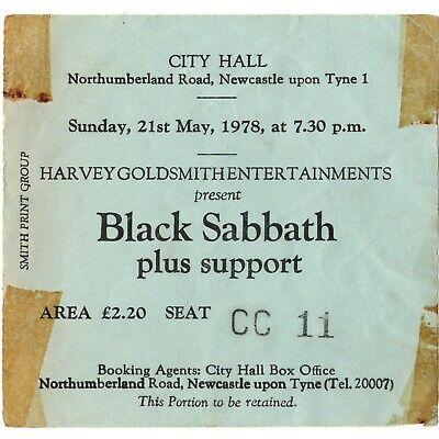 BLACK-SABBATH-VAN-HALEN-Concert-Ticket-Stub