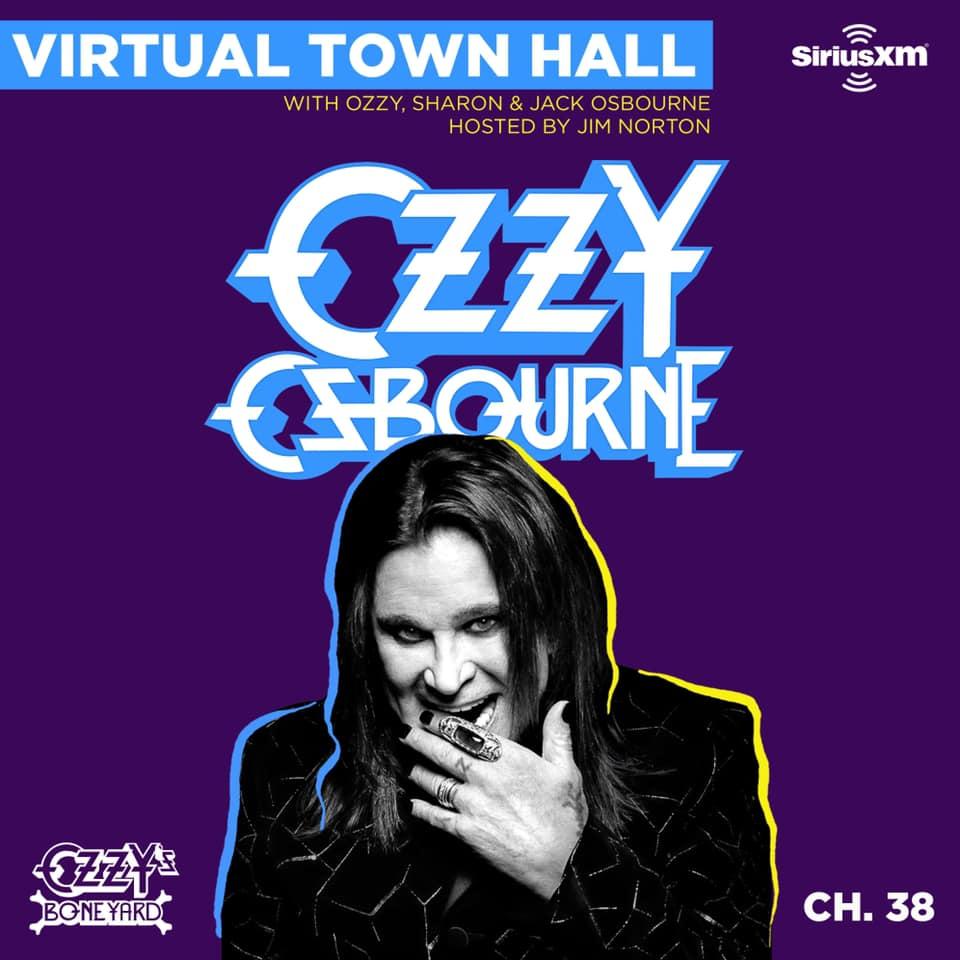 Ozzy Osbourne Virtual Town Hall