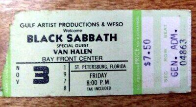 BLACK-SABBATH-OZZY-VAN-HALEN-Concert-Ticket-Stub