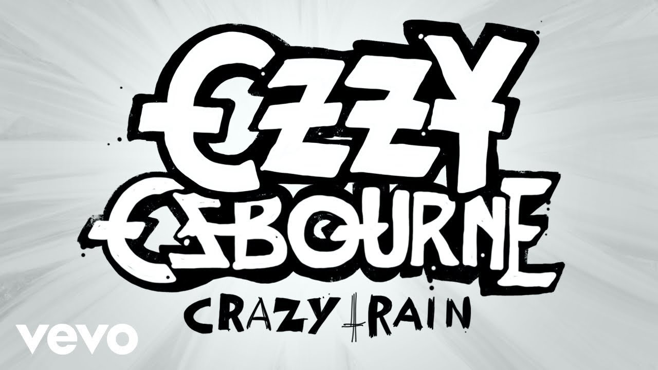 Ozzy Osbourne Crazy Train animated video