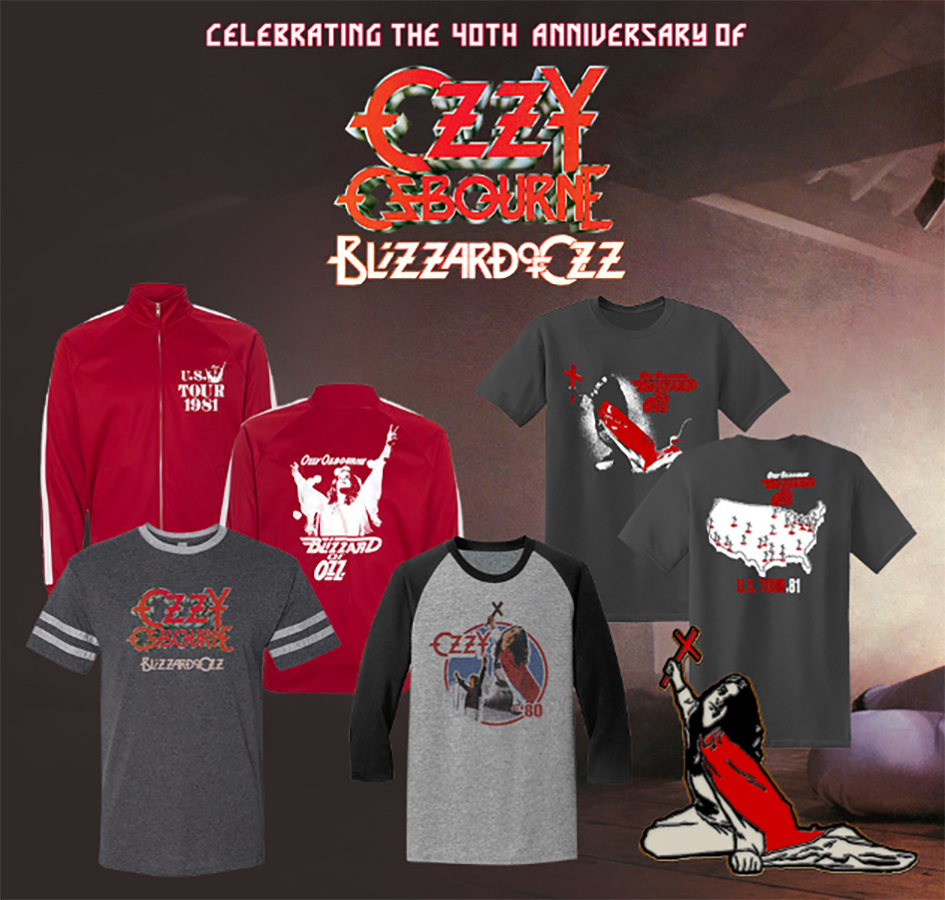 Ozzy Osbourne's Landmark Debut Album 'Blizzard of Ozz' To Be Celebrated Today, Release Day (September 18)