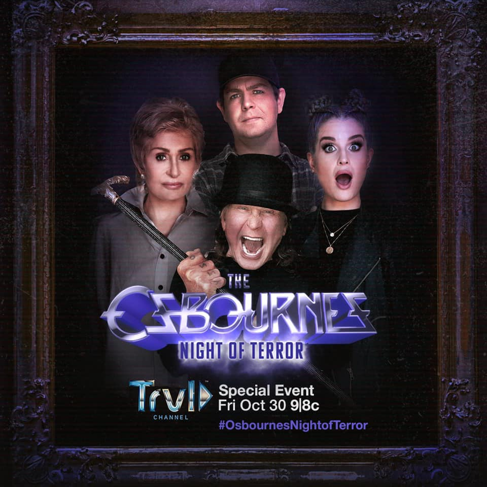 The Osbournes Night Of Terror on Travel Channel October 30, 2020