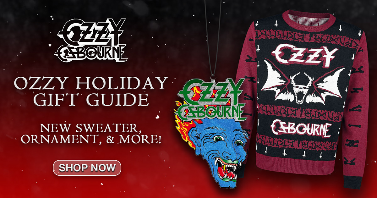 Ozzy Osbourne holiday gift guide 2020