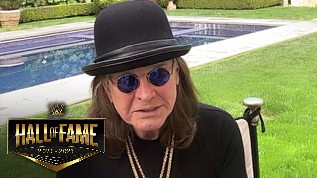 Ozzy Osbourne inducted into WWE Hall of Fame Class of 2021