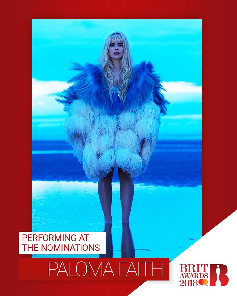Paloma to perform at the BRITS Nominations