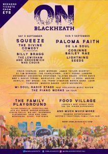 Paloma Faith to headline OnBlackheath Festival
