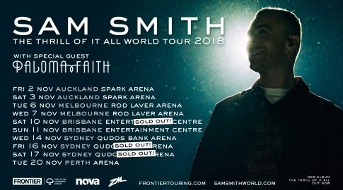 Paloma Faith Joins Sam Smith On His The The Thrill Of It All World Tour