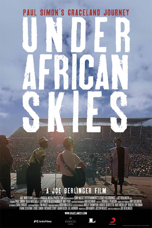 Under African Skies film poster