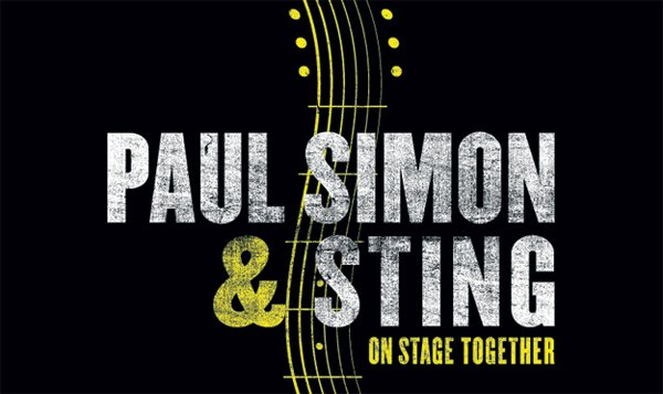 Paul Simon & Sting On Stage Together - Concert Tour Across North America, February & March 2014