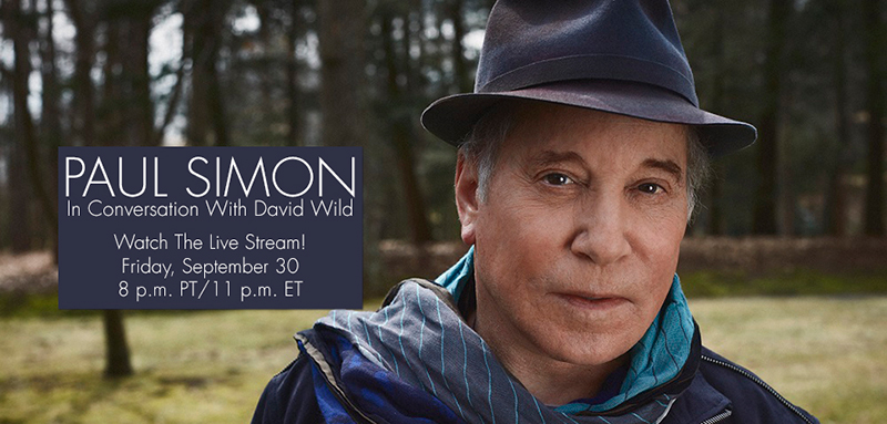 Paul Simon in conversation at the GRAMMY Museum September 30, 2016