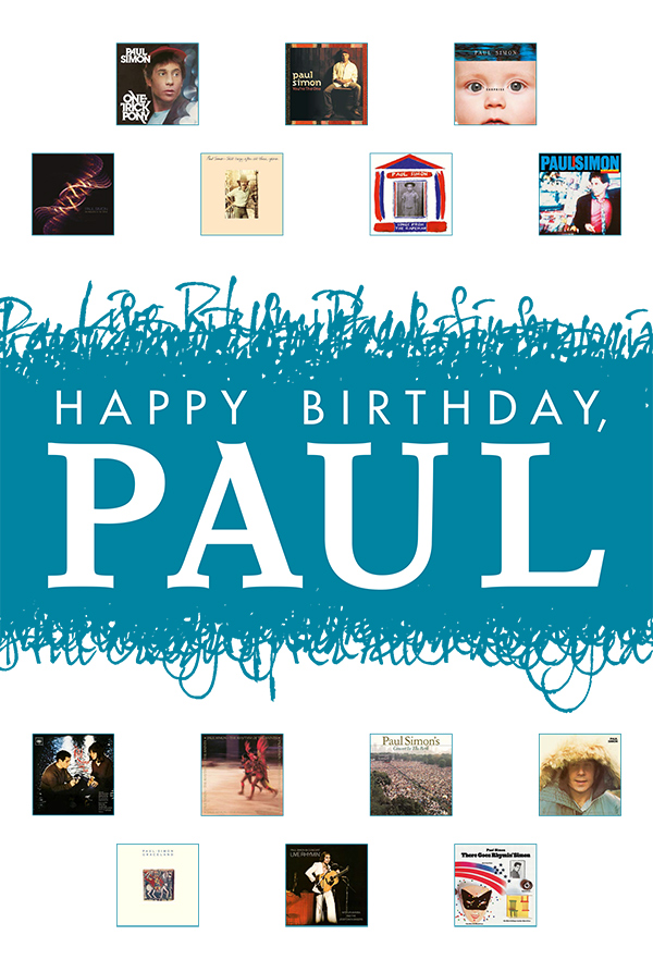 Happy Birthday Paul Simon