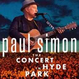 Paul Simon - The Concert In Hyde Park album cover