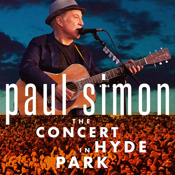 Paul Simon - The Concert In Hyde Park album cover