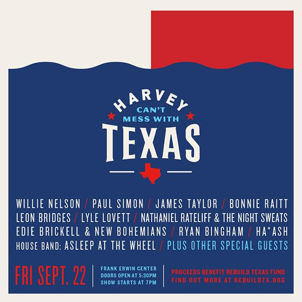 Hurricane Harvey Benefit Concert