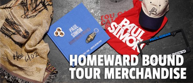 Paul Simon - Homeward Bound tour merchandise