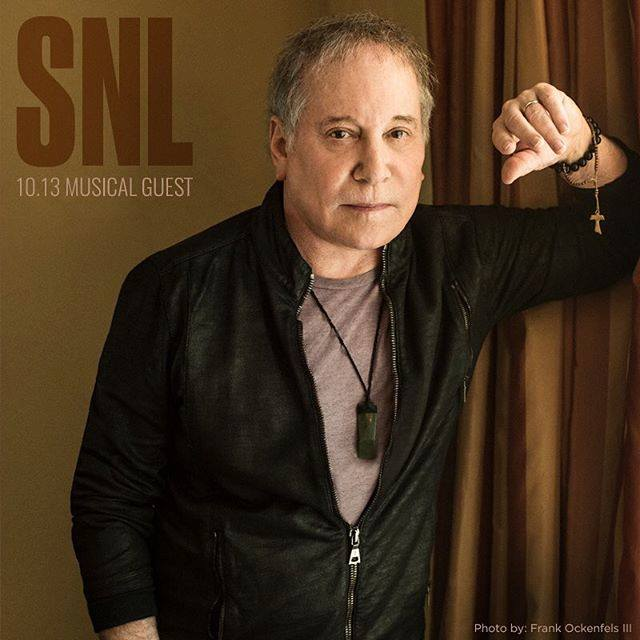 Paul Simon Saturday Night Live musical guest October 13, 2018