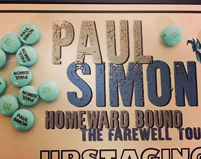 Paul Simon M&Ms