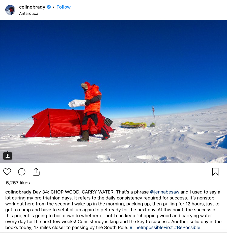Message from Paul: Colin O'Brady's Inspiring Race Across Antarctica