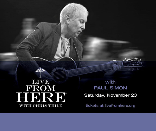 Paul Simon on Live from Here with Chris Thile