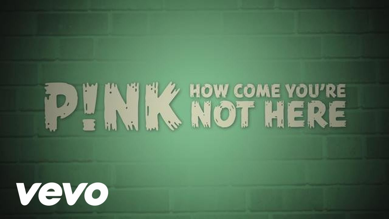 How Come You're Not Here (Official Lyric Video)