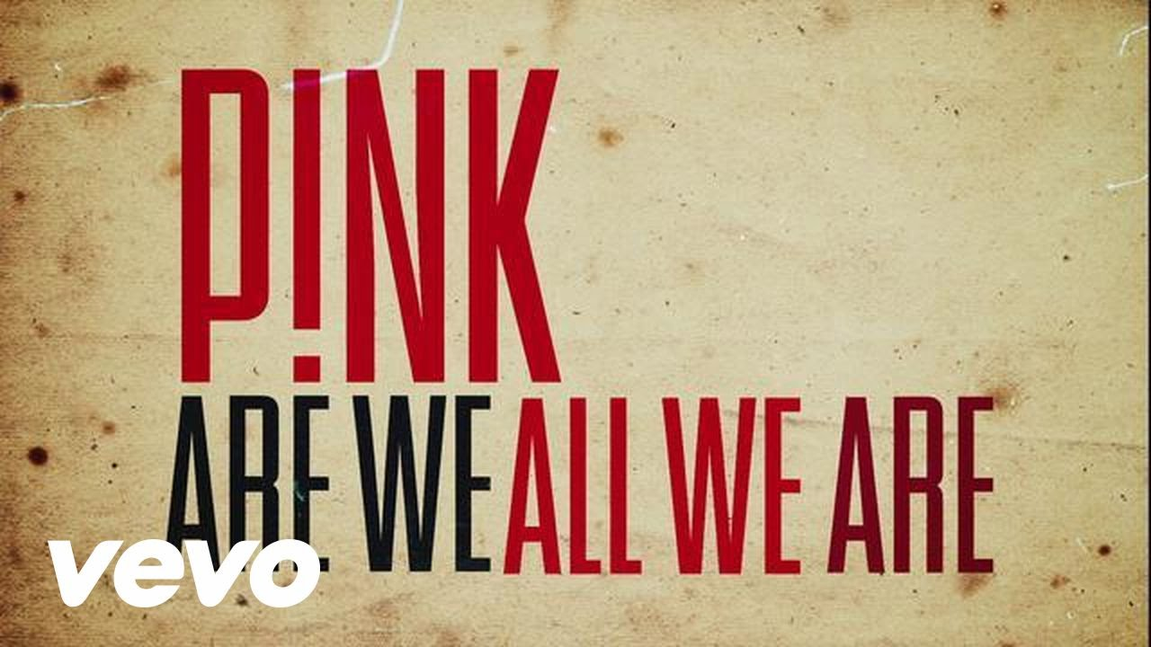 Are We All We Are (Official Lyric Video)