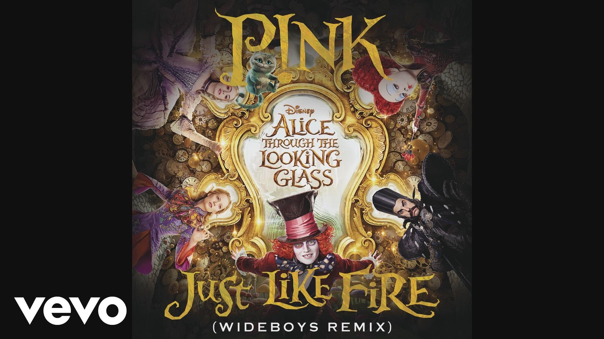 Just Like Fire (Wideboys Remix) [Audio]
