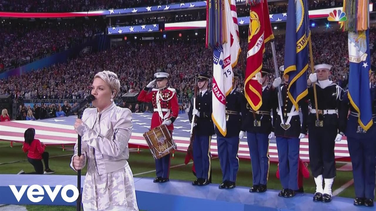 Super Bowl LII National Anthem performance
