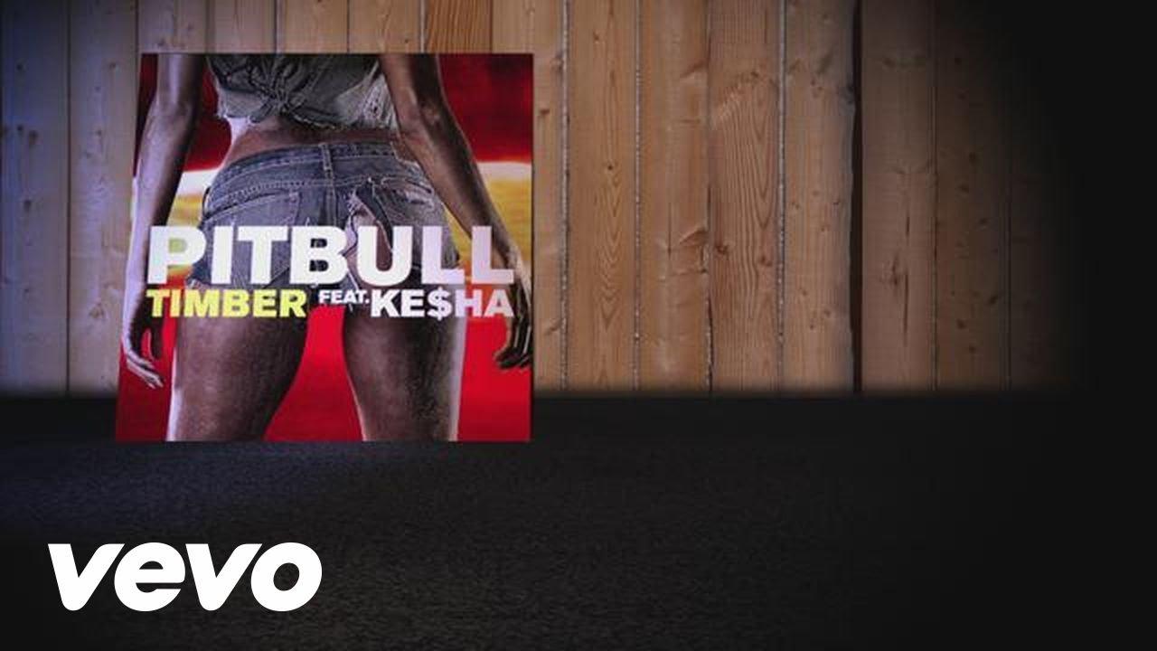 Pitbull ft. Ke$ha – Timber (Lyric Video)
