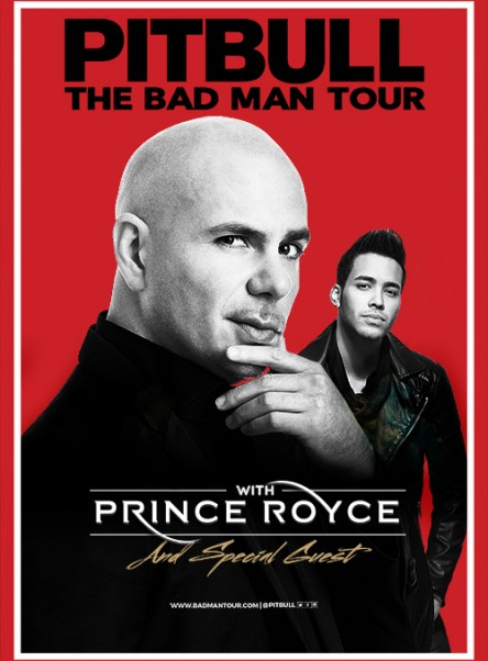THE BAD MAN TOUR WITH PRINCE ROYCE AND SPECIAL GUEST