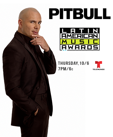 Pitbull on the Latin American Music Awards