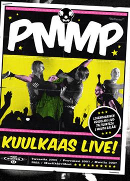Kuulkaas live! -DVD & PMMP-kirja