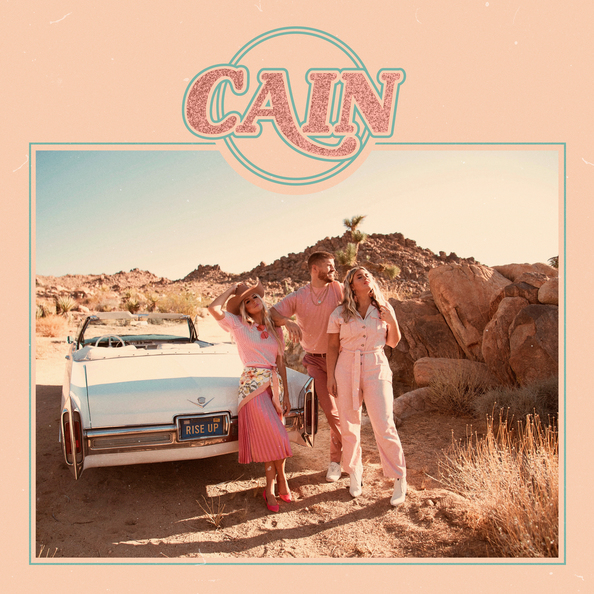 THE DEBUT ALBUM FROM CAIN, RISE UP, IS OUT NOW!