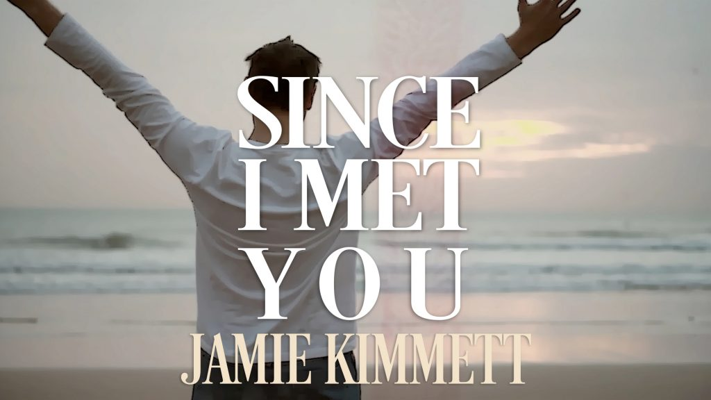 "Provident Label Group/Sony Music is excited to announce the lyric video for ""Since I Met You"", Scottish singer and songwriter Jamie Kimmett's third radio single."