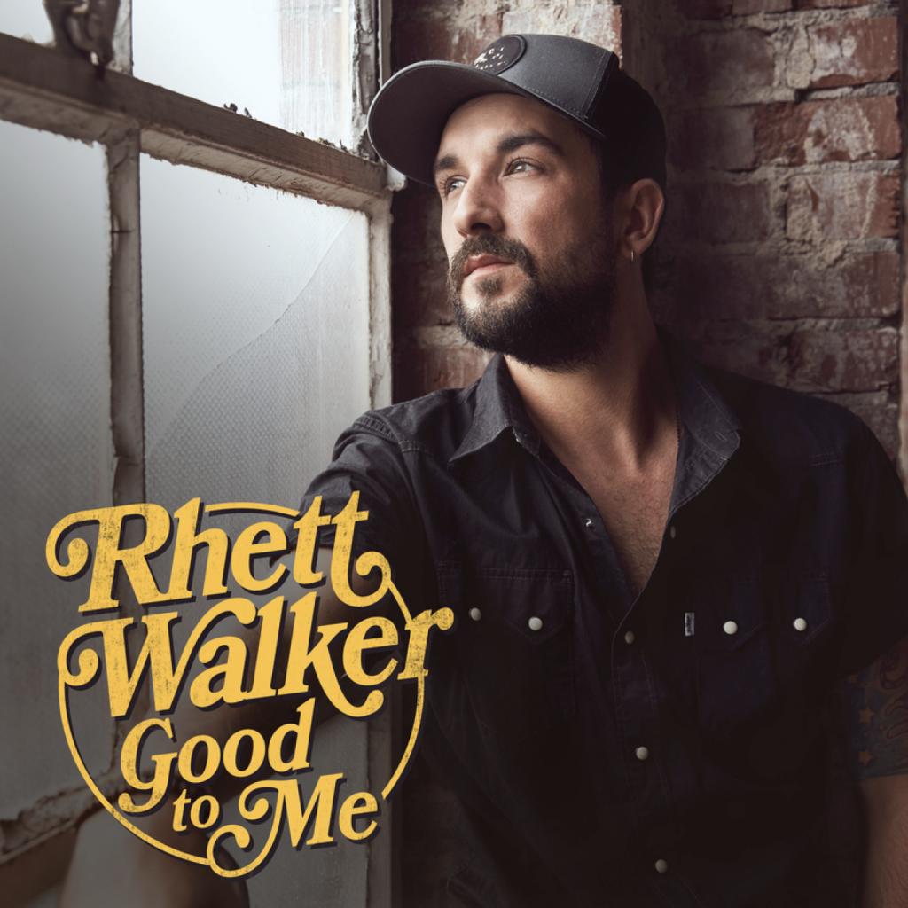 RHETT WALKER RELEASES HIS THIRD CAREER ALBUM TODAY