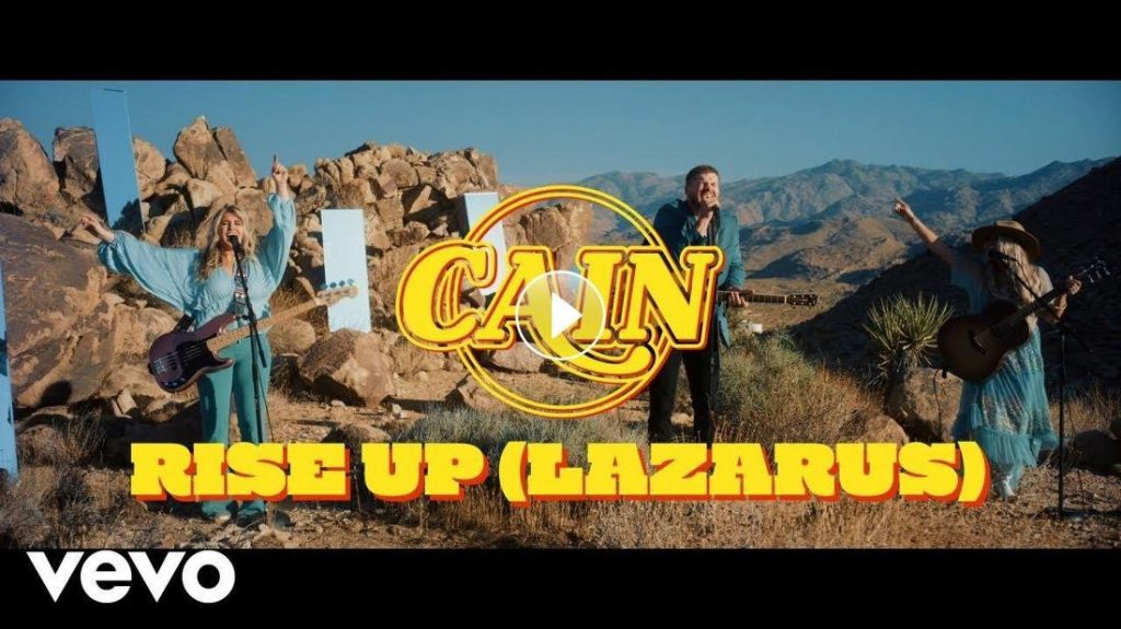 """CAIN BREAKS INTO THE TOP TEN AT RADIO WITH DEBUT SINGLE """"RISE UP (LAZARUS)""""; Sibling Trio Drop New Music Video Filmed At Joshua Tree National Park; Set To Open Zach Williams' Rescue Story Tour Rescheduled For Spring 2021"""
