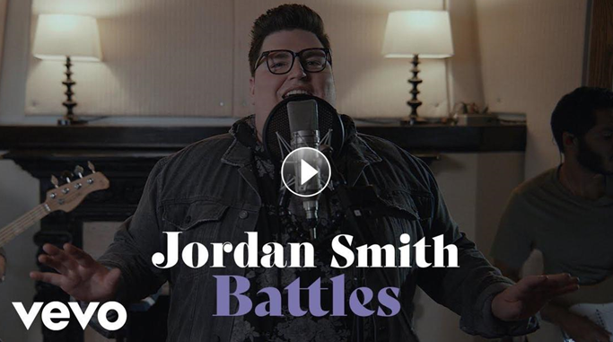 """JORDAN SMITH DROPS NEW SONG """"BATTLES,"""" OUT NOW ACCOMPANIED BY A LIVE PERFORMANCE VIDEO"""