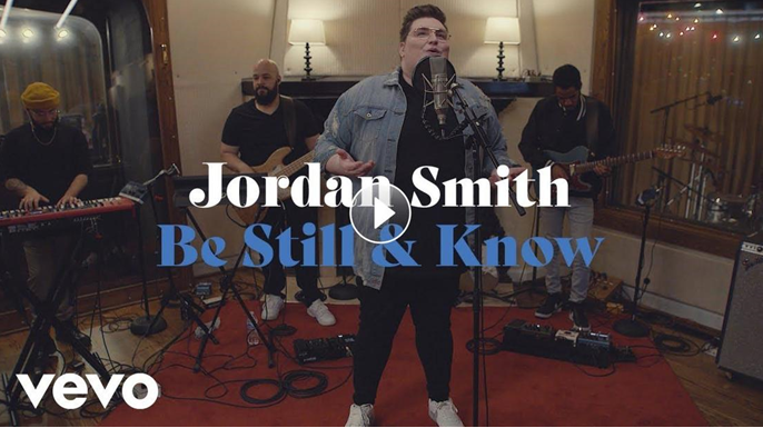 JORDAN SMITH RELEASES SEVEN-SONG EP TODAY, BE STILL & KNOW; Will Join Labelmate Rhett Walker On Tour This Fall