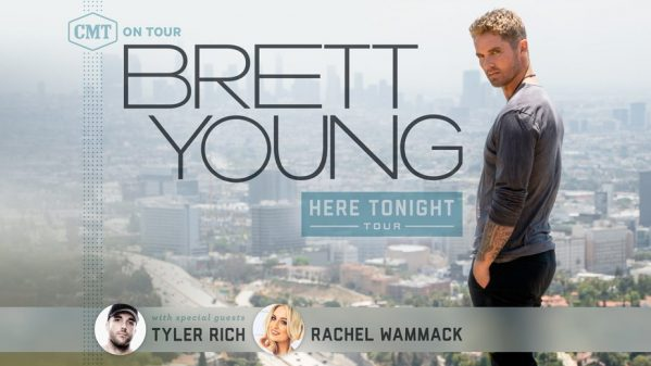 Rachel joining Brett Young for CMT On Tour: Here Tonight